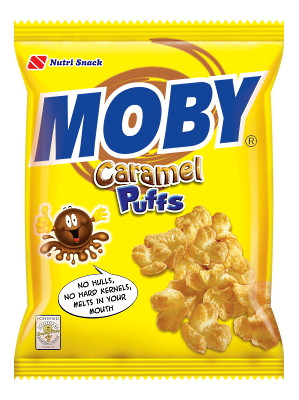 Moby - Caramel Puffs 60g - NUTRI-SNACK