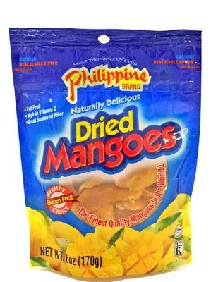 Dried Mangoes 170g - PHILIPPINE