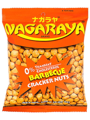 Cracker Nuts - Barbeque Flavour - NAGARAYA