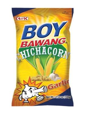 Boy Bawang Chichacorn - Super Garlic - KSK