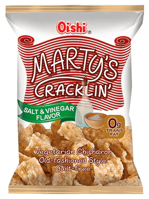 MARTY'S CRACKLIN' - Salt & Vinegar - OISHI