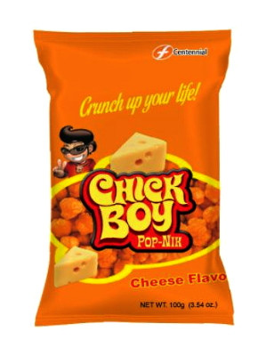 CHICK BOY Pop-Nix - Cheese Flavour - CENTENNIAL