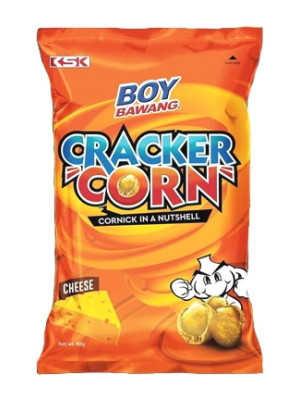 Boy Bawang Cracker Corn - Cheese - KSK