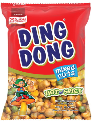 Ding Dong Mixed Nuts - Hot & Spicy - JBC