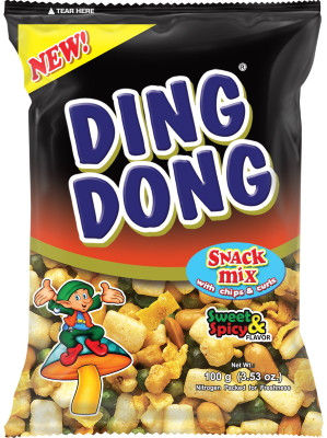 Ding Dong Snack Mix - Sweet & Spicy - JBL