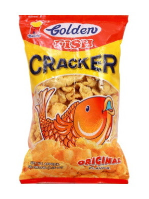 GOLDEN Fish Crackers - Original 100g - NARITA