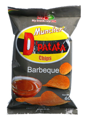 D'PATATA Chips - Barbeque Flavour - W.L.
