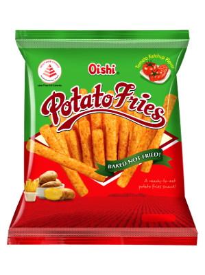 Potato Fries - Tomato Ketchup Flavour - OISHI