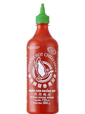 Sri Racha Hot Chilli Sauce 730ml - FLYING GOOSE
