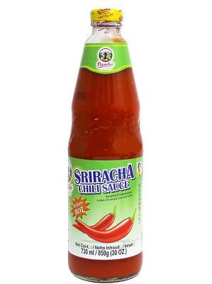 Sriracha Chilli Sauce - Medium Hot 730ml - PANTAI