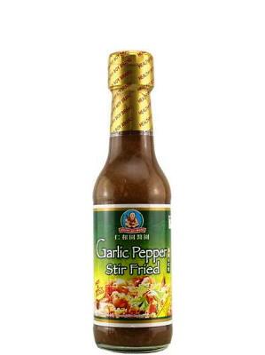 Hot & Spicy Garlic Pepper Stir-fry Sauce - HEALTHY BOY