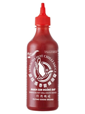 Sriracha Hot Chilli Sauce – Tom Yum Flavour 455ml – FLYING GOOSE