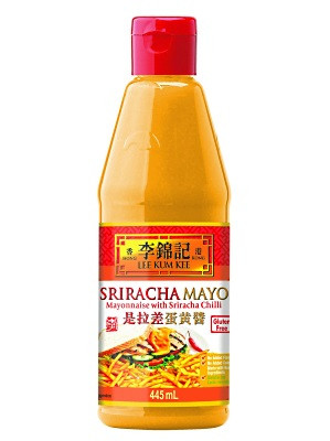 SRIRACHA MAYO (Mayonnaise with Sriracha Chilli) 445ml - LEE KUM KEE