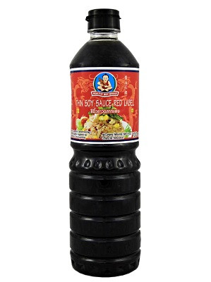 Thin Soy Sauce (red label) 1ltr - HEALTHY BOY