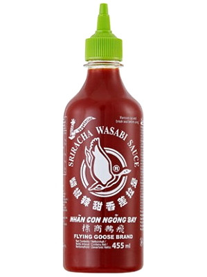 Sriracha Wasabi Sauce 455ml – FLYING GOOSE