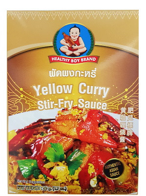 Yellow Curry Stir-fry Sauce – HEALTHY BOY