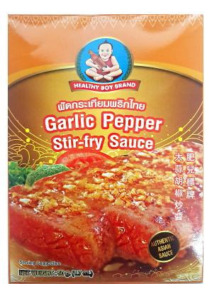 Garlic Pepper Stir-fry Sauce – HEALTHY BOY