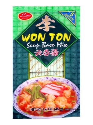Won Ton Soup Base Mix 5x9g - LEE