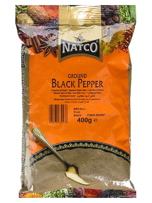 Ground Black Pepper 400g - NATCO