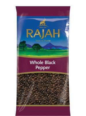 Whole Black Pepper 400g - RAJAH