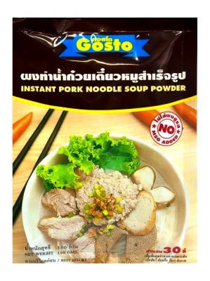 Instant Pork Noodle Soup Powder 150g - GOSTO
