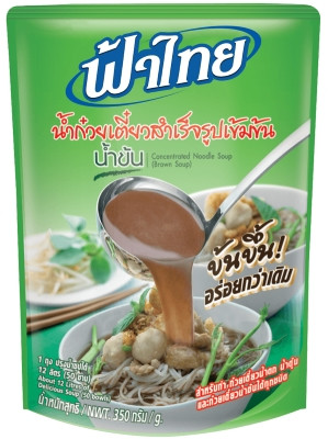 Concentrated Noodle Soup - Brown (makes 12 Litres) – FA THAI