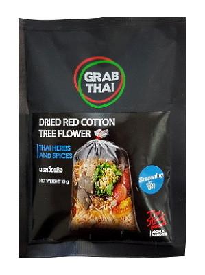 Dried Red Cotton Tree Flower – GRAB THAI