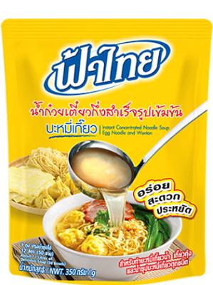 Instant Concentrated Egg Noodle & Wonton Soup Base (makes 12 litres) – FA THAI