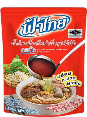 Instant Noodle Soup Base – Beef Flavoured (makes 5 litres) – FA THAI