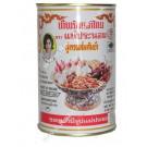 Chilli in Oil for Tom Yum 900g (white tin) - MAE PRANOM