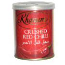 Crushed Red Chilli (tin) - KHANUM