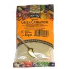 Ground Green Cardamom 50g (refill) - NATCO