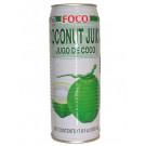 Coconut Juice with Pulp 520ml - FOCO