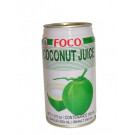 Coconut Juice with Pulp 350ml - FOCO