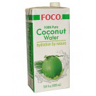 100% Pure Coconut Water 1ltr - FOCO