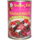 Mackerel in Tomato Sauce (large can) - SMILING FISH