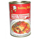 Fried Mackerel in Chilli Sauce (large can) - SMILING FISH