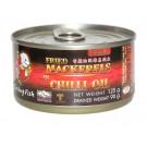 Fried Mackerel in Chilli Oil - SMILING FISH