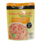 Microwaveable Cooked Savoury Chicken Flavour Rice - RICE