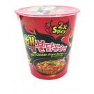 """""""2x SPICY"""" Chicken Flavour Ramen Cup - SAMYANG"""