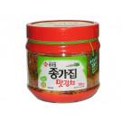 Korean !!!!Mat!!!! (Cut Leaf) Kimchi 750g (jar) - CHONGGA