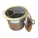 """3-Section Noodle Soup Pan (14"""" diameter x 14"""" high)"""