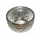 Ornate Aluminium Water Bowl (120mm diameter)