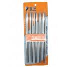 Stainless Steel Chopsticks (5prs) - JUNCHENG