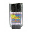 Small (11cm) Black Candles - 51pcs