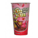 !!!!YAN YAN!!!! Chocolate & Strawberry Double Cream Dip Biscuit Snack - MEIJI