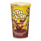 !!!!YAN YAN!!!! Chocolate & Banana Double Cream Dip Biscuit Snack - MEIJI