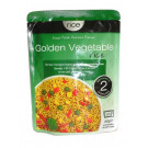 Microwaveable Cooked Golden Vegetable Rice - RICE