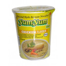 Instant Cup Noodles - Chicken Flavour - YUM YUM