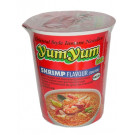 Instant Cup Noodles - Shrimp (Tom Yum) Flavour - YUM YUM